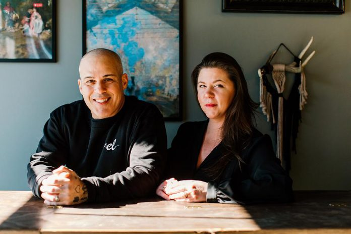 The El owners Greg and Amanda da Silva were both born and raised in Toronto, but relocated to Cobourg in 2016 in search of small-town life. They purchased the #l Camino restaurant and renovated and rebranded it in 2020. The couple credits the community's commitment to supporting small business for helping The El survive the pandemic. (Photo: Chantelle Watt)