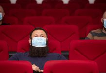 Cinemas, concert, theatres, and other performing arts venues can reopen with capacity limits during step three of Ontario's reopening plan effective July 16, 2021. Face masks are still required in all indoor settings. (Stock photo)