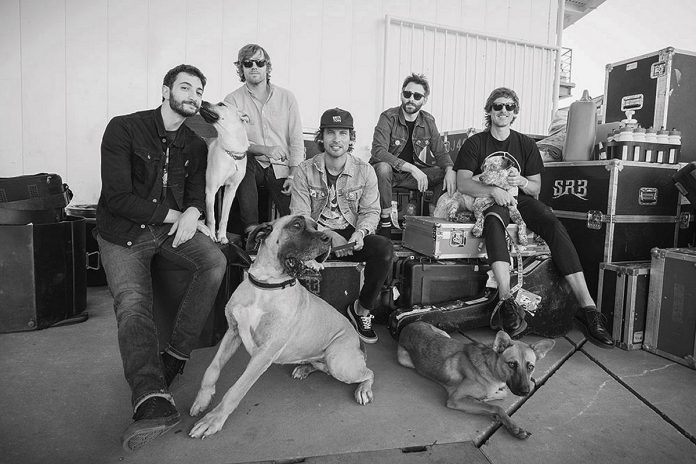 The Sam Roberts Band. (Publicity photo)