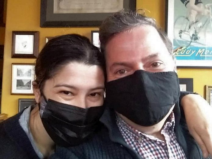 Married couple Shannon Mak and Roland Hosier own sister restaurants Le Petit Bar and St Veronus Cafe and Taproom. The entrepreneur couple has worked tirelessly throughout the past 15 months to see their businesses survive the pandemic. (Photo: St Veronus / Facebook)