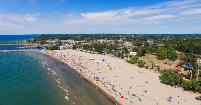 Victoria Park Beach in Cobourg. (Photo: Town of Cobourg)