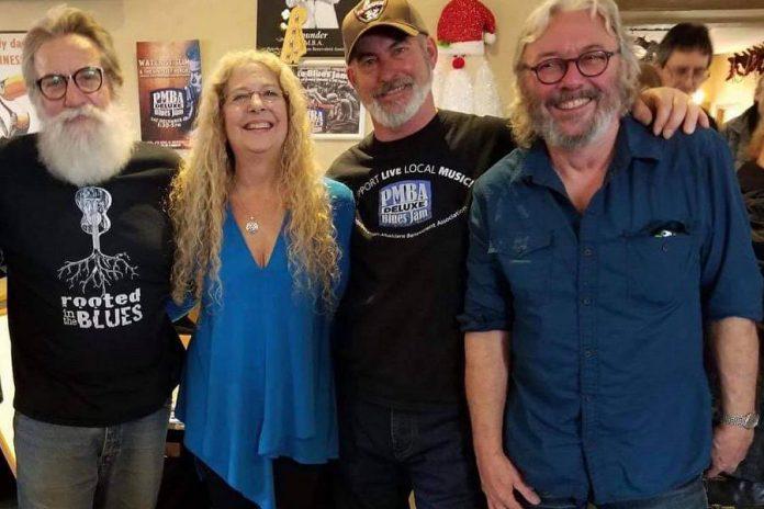 Board members of the Peterborough Musicians' Benevolent Association: Don McBride, Jo Pillion, Norm Kastner, and Al Black. (Photo: PMBA / Facebook)