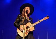 Serena Ryder, pictured at Showplace Performance Centre in downtown Peterborough in December 2019, will be performing on Willow Hill at Westben in Campbellford on September 25 and 26, 2021. (Photo: Bruce Head / kawarthaNOW)