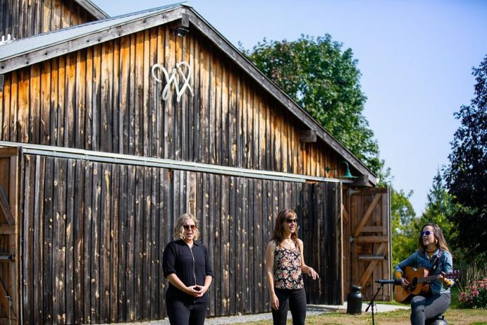 Folk/country harmony trio Good Lovelies are one of several artists who have participated in Westben's Digital Concerts at The Barn. (Photo: Steve Dagg)
