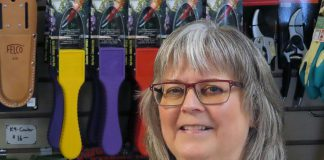 Brenda Ibey, owner of The Avant-Garden Shop, is donating $1,000 towards Dave McNab's campaign to bring Rashid, an 18-year-old Syrian refugee, to Canada. McNab met Rashid after the teenager posted in a Facebook birding group about his dream to come to Canada and received abuse from some members. Ibey's shop has done well during the pandemic based on the increased demand for birding supplies and her bird seed and feeder supplier, Newmarket-based Wild Bird Trading, has even offered Rashid a job when he comes to Canada. (Photo courtesy of Brenda Ibey)