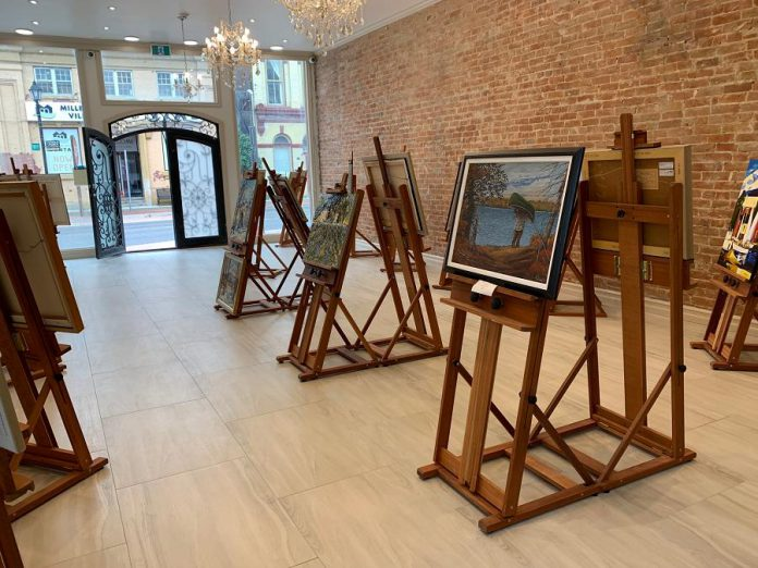 After extensive renovation to the building, Galerie Q is now located at 44 King Street East in downtown Millbrook. (Photo: Galerie Q)