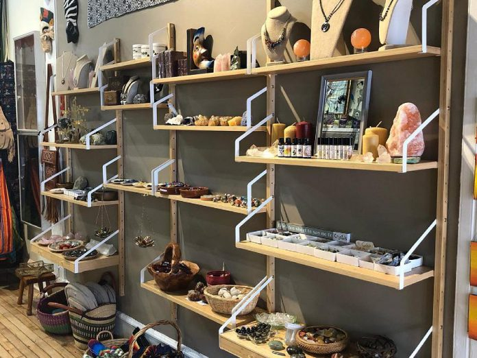 Lavender Moon in downtown Peterborough offers a selection of clothing, crystals, tarot, incense, and more. (Photo: Lavender Moon / Facebook)