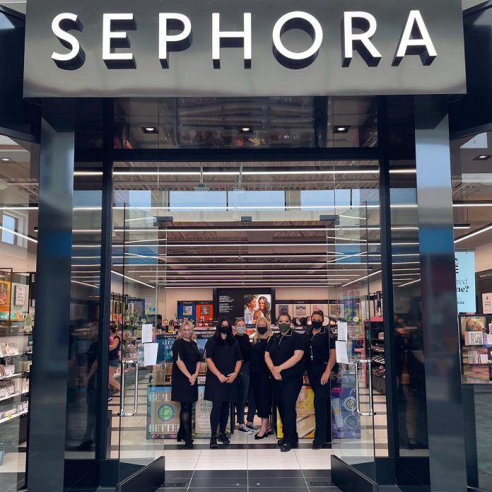 Beauty store Sephora is now open at Lansdowne Place in Peterborough. (Photo: Lansdowne Place Mall)