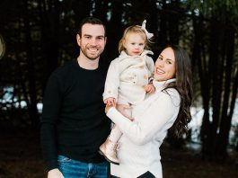 Jessica Dalliday, the late owner and CEO of Pilates on Demand in Peterborough, with her husband Michael and daughter Rachel. Jessica passed away in hospital April 2021 following complications that had also taken the life of her newborn daughter five days prior. She is one of the recipients of the Peterborough Chamber's 4-Under-40 Profiles. (Photo: Dalliday family)