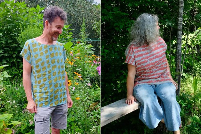 Madderhouse Textile Studios will be debuting a new line of breezy summer tops at Watson & Lou. (Photos: Madderhouse Textile Studios)