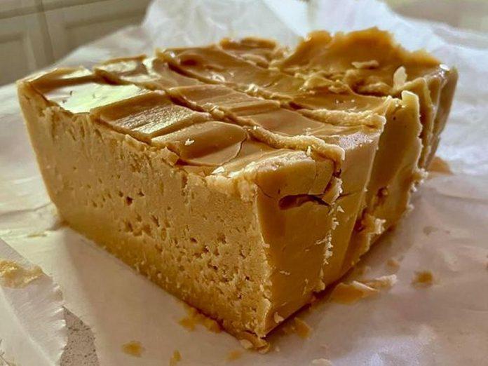 Frasca's Ridge Maple Co.'s maple fudge has no added sugar, just maple syrup. (Photo: Frasca's Ridge Maple Co.)