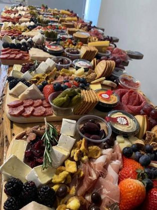 Ingredients for Victoria Seguin's charcuterie boards are sourced from local small businesses. (Photo: Sharecuterie Boards)