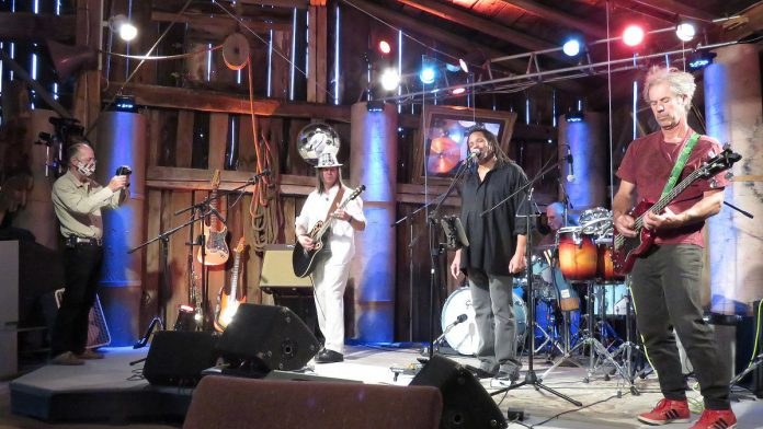 Tune in to YouTube on September 17, 2021 to catch the performance by Raggedy Andys for season three of Live! At The Barn (Photo courtesy of Andy and Linda Tough)