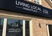 Living Local Marketplace at 1179 Chemong Road in Peterborough is the new storefront location for online subscription box service Living Local, owned and operated by Alicia Doris. It opens on September 24, 2021. (Photo: Living Local)