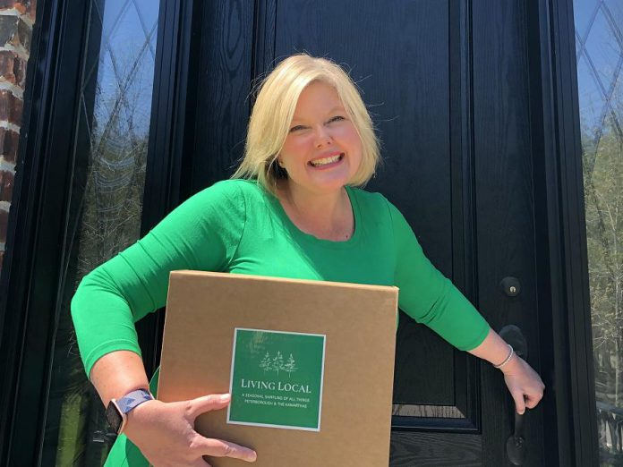 Alicia Doris launched her online subscription box service Living Local in 2020, and is now expanding it to a new storefront location at 1179 Chemong Road, across from Portage Place, in Peterborough. Doris has also launched a sister company called Living Local Ontario. (Photo: Living Local)