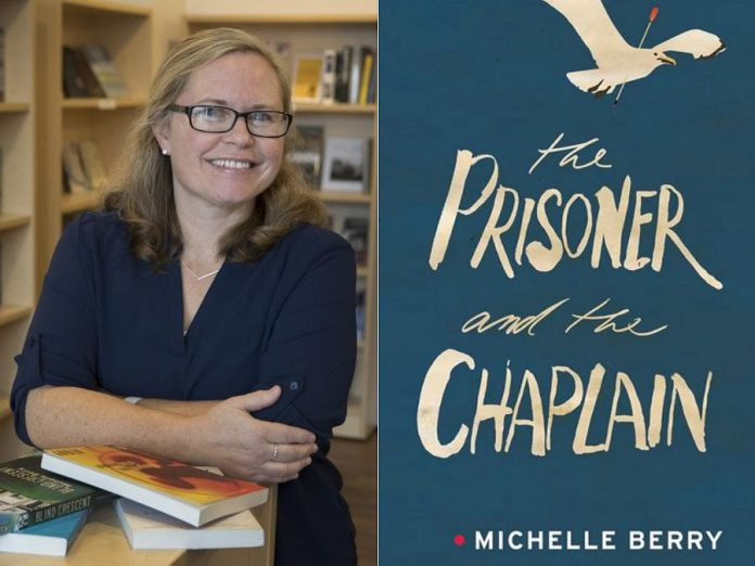 """Michelle Berry's 2017 novel """"The Prisoner and the Chaplain"""" is in development for a future screen capture. (Photo: Fred Thornhill)"""