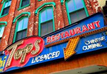 The iconic Hi Tops restaurant sign originally marked the location of the former Hi Tops restaurant on George Street in downtown Peterborough, which was operated by the Hum family since the early 1900s. The sign then went to The Spill, now closed, and then to Hot Belly Mamma's, which is now also closed. (Photo: Hi Tops / Facebook)