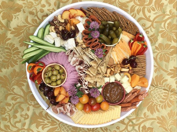 Platters from Cheese Please Catering offer both mild and strong flavours. (Photo: Cheese Please Catering)