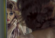 """One of the subjects of the documentary """"P.S. Burn This Letter Please"""", 84-year-old George Roth (aka """"Rita George"""") is shown preparing in 2019 for the 50th anniversary of his being named """"Miss Fire Island"""" in Cherry Grove, New York. In the 1950s, Cherry Grove became a """"safe haven"""" for members of the 2SLGBTQ+ community who were otherwise ostracized and persecuted for being themselves. (Photo: Zachary Shields)"""