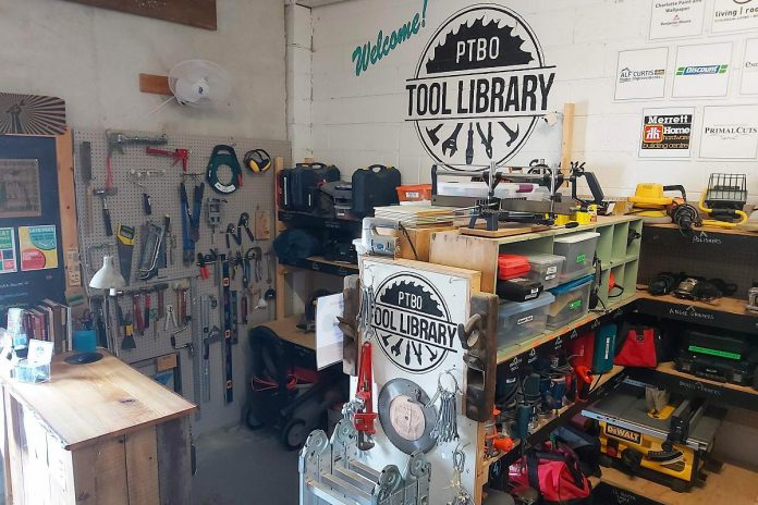The Peterborough Tool Library provides area residents with a great option to shift from ownership to a sharing economy and reduce personal waste. (Photo courtesy of Peterborough Tool Library)