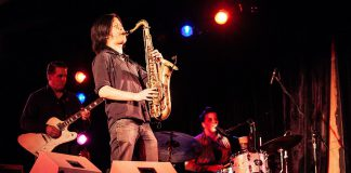 Saxophonist Jonny Wong performing with The 24th Street Wailers. Wong died on October 15, 2021 at the age of 36 following a battle with leukemia. He had recently started a new career as a software developer. (Photo: Blues at the Bow / bluesatthebow.com)