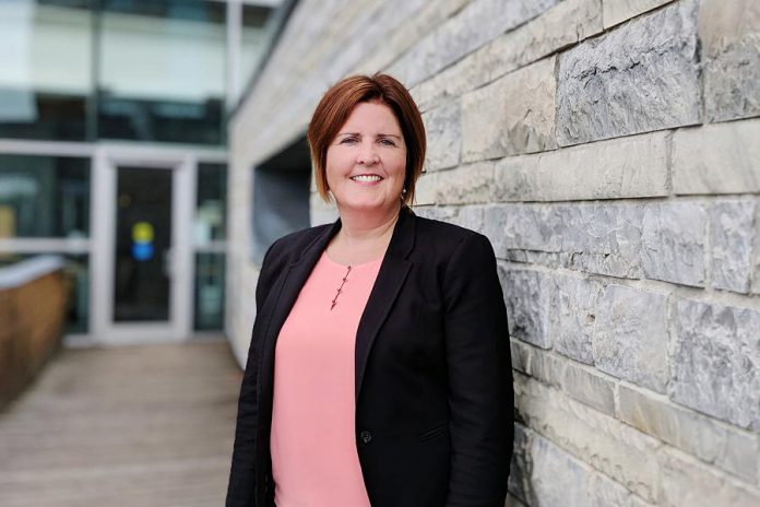 Lesley Heighway, president and CEO of the Peterborough Regional Health Care (PRHC) Foundation, has been awarded with the designation of Fellow of the Association for Healthcare Philanthropy. (Photo courtesy of PRHC Foundation)