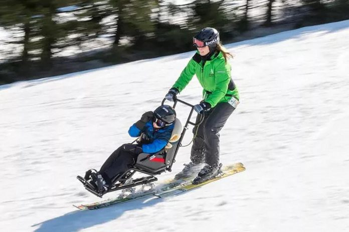 Peterborough's Jacyln Harris is trying to raise $9,000 so her nephew Nico Iemma, an award-winning young athlete from Oshawa, can can participate in downhill skiing with his family this winter. (Photo: Jaclyn Harris / GoFundMe)