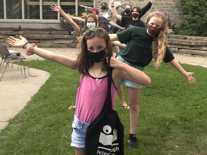 This fall, the Peterborough Children's Chorus is celebrating the return to in-person rehearsals, with auditions open for children and youth aged 12 to 18. The junior choir program is on hold until the organization feels it is safe and comfortable to have younger children singing in person together. (Photo courtesy of Peterborough Children's Chorus)