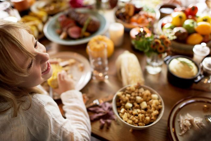 Public health officials recommend indoor Thanksgiving gatherings be limited to people who are fully vaccinated. If the group includes one or more people who are partially vaccinated or unvaccinated, the gathering should be held outdoors with physical distancing and face masks. (Stock photo)