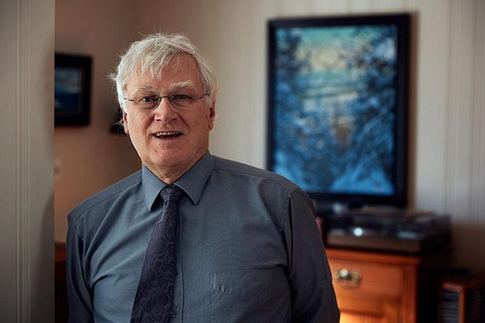 Dr. Ian Gemmill, Peterborough's interim medical officer of health, at his home in Kingston in 2018. Dr. Gemmill, who was medical officer of health at Kingston, Frontenac and Lennox & Addington Public Health for more than 20 years, was most recently acting medical officer of health for Haliburton, Kawartha, Pine Ridge District Health Unit. (Photo: Max Rosenstein)
