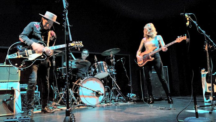 Whitehorse performing at Market Hall Performing Arts Centre, on April 19, 2018. (Photo: Bruce Head / kawarthaNOW)